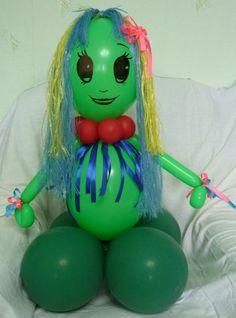 Кикимора из воздушных шаров http://airfriend.ru/products/4280673