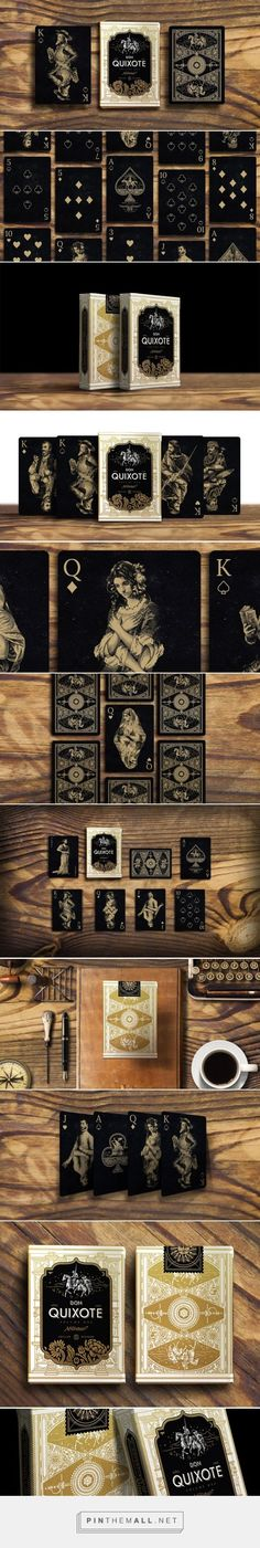 Don Quixote Playing Cards Vol.1 by Cellar Window, via From up North
