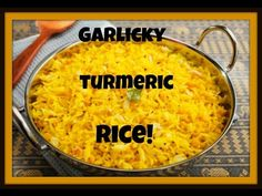 My Family's Secret Garlicky Middle Eastern Rice Recipe! الأرز مع الثوم والكركم - YouTube