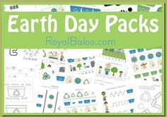 Free Earth Day printable pack - Money Saving Mom®