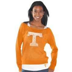 I want! Tennessee Volunteers Womens Holy Long Sleeve T-Shirt and Tank - Tennessee Orange