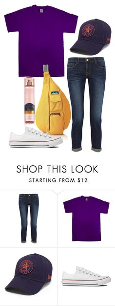 """""""Tunnels tomorrow"""" by ava-navarrrroo ❤ liked on Polyvore featuring Frame, Gildan and Converse"""
