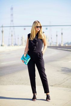 J is for Jumpsuits - Late afternoon #sstrendguide. This is one I could actually see myself wearing.