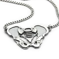 Pelvic Bone necklace by missyindustry on Etsy