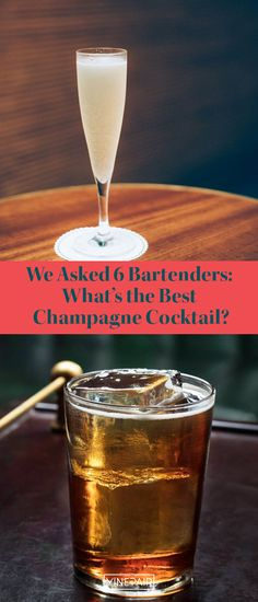 Delicious on its own, #Champagne is a transformative #cocktail ingredient. Six bartenders share #recipes for original and classic Champagne cocktails. Best Champagne, Champagne Cocktail, Wine Cocktails, Cocktail Recipes, Cocktail Ingredients, Bartenders, Good Things, Classic, Food