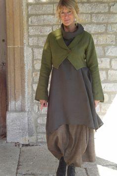 Angelika Elsebach handmade clothes             Funniness...I'm being kind.