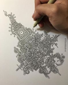 This Artist Takes Doodling To a Ridiculous Level | UltraLinx