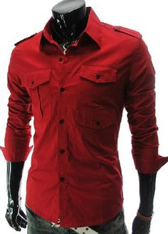 Charming Long Sleeve Button Closure Shirt for Man – teeteecee - fashion in style