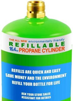 FlameKing Refillable Propane Tank and 1 Lb Reusable Propane Cylinder Best Camping Gear, Camping Hacks, Camping Outdoors, Propane Cylinder, Recycling Machines, Outdoor Gadgets, Sale Store, Small Engine, Camping Stove