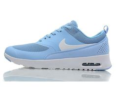 size 40 bdc94 d2142 Nike Air Max Thea Women s Trainers - Sky Blue White HOT SALE! HOT PRICE