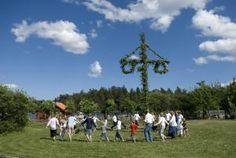 Sweeden: Midsummer celebration. - Annika Vannerus/Getty Images