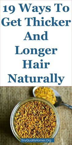 19 Ways To Get Thicker And Longer Hair Naturally: This Guide Shares Insights On … - Modern Make Hair Thicker, Grow Natural Hair Faster, How To Grow Your Hair Faster, Grow Long Hair, How To Make Hair, Grow Hair, Longer Hair Faster, Long Hair Growing Tips, How To Maintain Hair