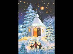 [carol] Away in a manger, Silent night holy night - [캐롤] 그 어린 주 예수, 고요한 ...