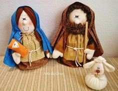 Diy And Crafts, Arts And Crafts, Nativity Crafts, Xmas, Christmas Ornaments, Doll Furniture, Scandinavian Christmas, Animals And Pets, Embroidery