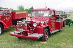 1958 Willys-Howe Commando Fire Jeep....