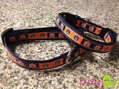Auburn Football Dog Collar. $15.00, via Etsy.