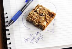 A healthy snack for school, work or home.