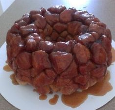 Monkey Bread- our new Christmas morning tradition!