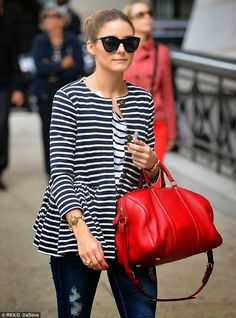 THE OLIVIA PALERMO LOOKBOOK By Marta Martins: Olivia Palermo in New York.