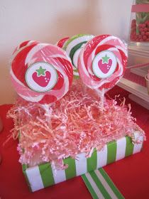 MBC: Strawberry Shortcake Inspired Party
