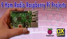 A curation of nine suprising Amateur Radio Raspberry Pi Projects you can do and get inspired
