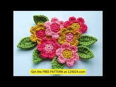 African Flower Crochet Dragon Pattern : 1000+ images about crochet African flower on Pinterest ...