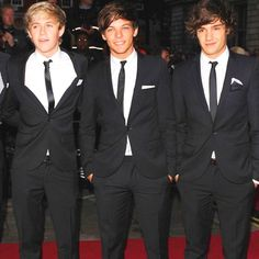 One Direction. Ok. I am pinning this because I want @Nae Nay Smith to know these are the 3 I like from the band.