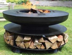 """Explore our website for additional details on """"concrete fire pit"""". It is a great. - Explore our website for additional details on """"concrete fire pit"""". It is a great area to learn m - Fire Pit Backyard, Backyard Patio, Backyard Landscaping, Modern Fireplace, Fireplace Design, Fireplace Outdoor, Outside Fire Pits, Fire Pit Materials, Concrete Fire Pits"""