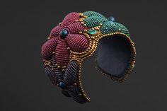 "Buy surround bracelet ""reach out to the dream. Diy Bracelets How To Make, Make Your Own Bracelet, Homemade Bracelets, Bracelet Making, Jewelry Making, Bead Embroidered Bracelet, Soutache Bracelet, Embroidery Bracelets, Beaded Embroidery"
