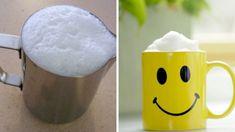 Ako z kaviarne: Geniálny trik, ako pripraviť z mlieka nadýchanú mliečnu penu!