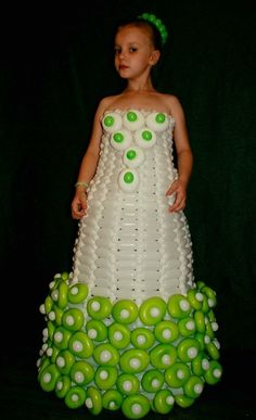 Balloon Crafts, Balloon Decorations, Balloon Dress, Shower Centerpieces, Balloons, Costumes, Clothing, Inspiration, Dresses