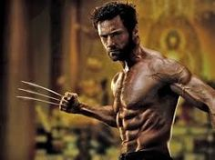 """In the other X-Men films, Hugh Jackman didn't have to be that big and muscular to play his character. However, when he got the spin-off for his own film """"The Wolverine"""", he had to go into intense training because the producer wanted him to fit the character of a ripped and masculine super hero as we see in the picture."""