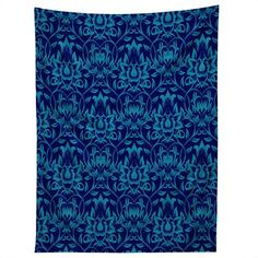 aimee-st-hill-vine-blue-tapestry-denydesigns.com