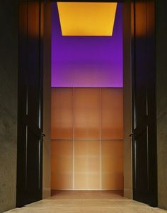 James Turrell + Olson Kundig Architects. House of Light, Bellevue, WA 2006.