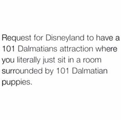 Why isn't Disney funding this? << then when they grow up, they give them to kids in need or something amazing