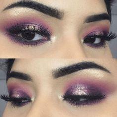 21 Purple Eyeshadow Looks for Brown Eyes