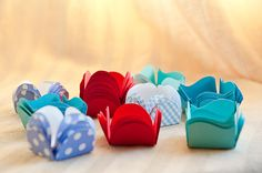 Baking cups for Brigadeiro by Ninaslittleboxes on Etsy, $5.00