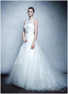 [웨딩드레스]여신이라 칭송받는 뮤즈의 고혹적인 아름다움..브라이드 메르시 < 웨딩뉴스 < 웨딩검색 웨프