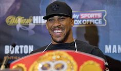 Exclusive: Anthony Joshua ready to announce himself on the big stage in 2017
