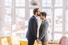 Stylish and Modern Winter Wedding Inspiration | Amanda Dumouchelle Photography | Take A Seat Events