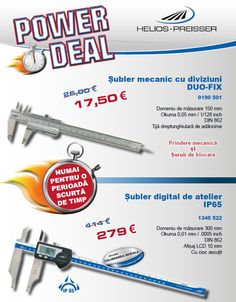 Promoție șublere Helios-Preisser Control