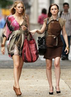 Blair Waldorf and Serena van der Woodsen | Gossip Girl