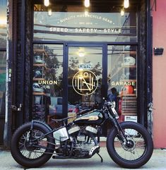 Harley Flathead bobbe