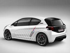Peugeot 208 HYbrid FE : le Concept-car Fun  Efficient