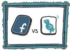 Piilotettu aarre: Twitter vs Facebook vertailu