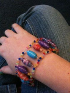 How to Make a Duct Tape Bead Bracelet