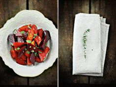 BABY BEETS WITH MINT