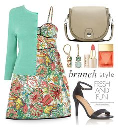 """""""Brunch With Friends 1235"""" by boxthoughts ❤ liked on Polyvore featuring Nanette Lepore, rag & bone, L.K.Bennett, Dana Buchman, Michael Kors and brunch"""
