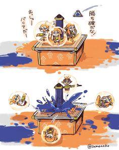 Tower Control - Bubbler vs. Splat Bomb #splatoon