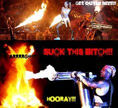 Burn this BITCH!!!! Hooray!!!